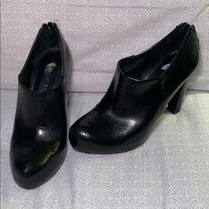 Black Franco Sarto heels